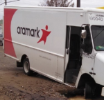 aramark truck down
