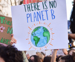 Planet B protest