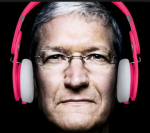apple beats cook headset