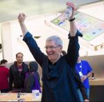 cook tim apple iphone ecstatic