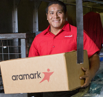 aramark delivery guy