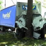 Paperlinx truck crash