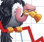 Vulture Cap down graph