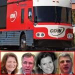 CDW team montage bus