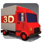 amazon 3d red truck