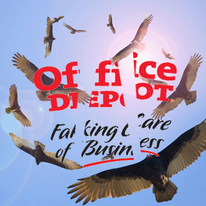 office depot vultures break up