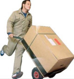 delivery guy fast