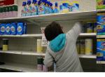 clorox woman shelf