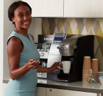 Keurig lady coffeemaker