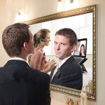 man in mirror1 ignoring lucy