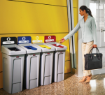 rubbermaid recycling
